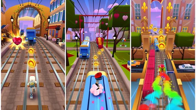 Subway Surfers - Mejores juegos para Android