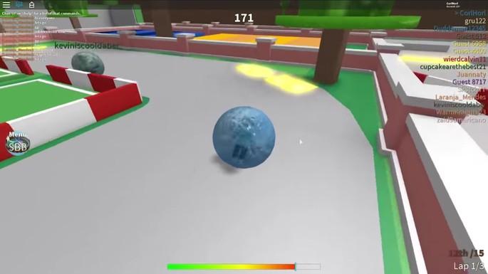 Super Blocky Ball - Juegos divertidos de Roblox