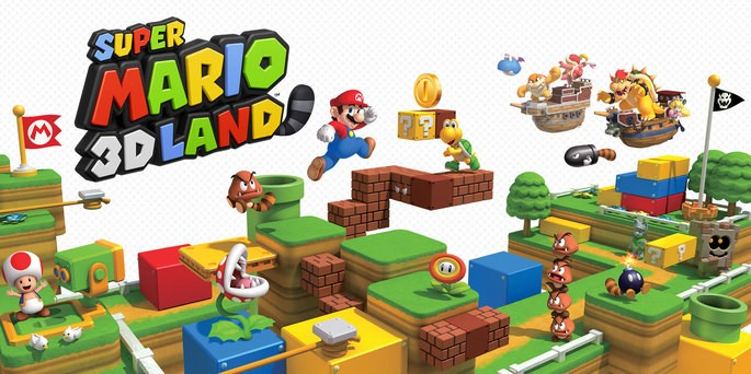 Super Mario 3D Land - Mejores juegos 3DS