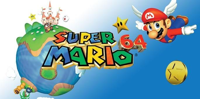 Super Mario 64 - Mejores juegos de la Nintendo 64