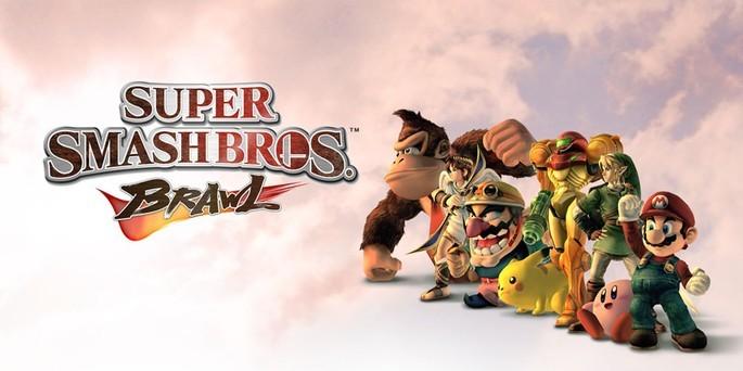 Super Smash Bros Brawl - Juegos de Nintendo Wii
