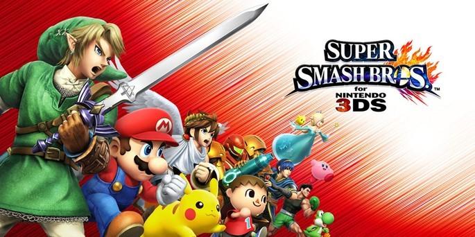 Super Smash Bros. para Nintendo 3DS - Mejores juegos 3DS