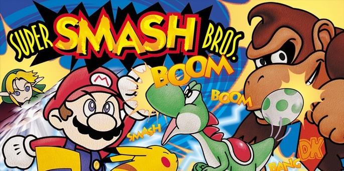 Super Smash Bros - Mejores juegos de la Nintendo 64