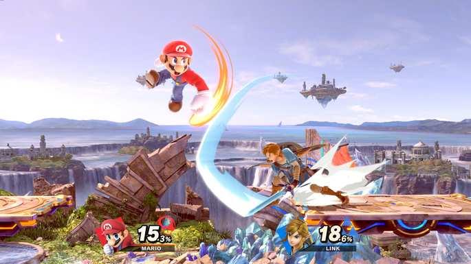 Super Smash Bros Ultimate - juegos de multijugador
