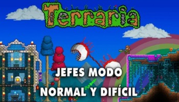 Terraria: todos los jefes para los modos Normal y Difícil