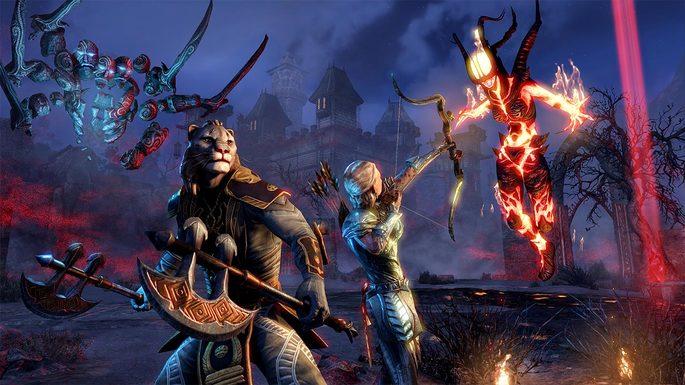 The Elder Scrolls Online - Juegos multijugador PS4