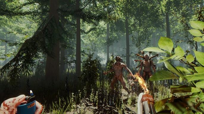The Forest - Mejores juegos de terror PC