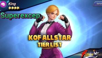 The King of Fighters ALLSTAR: Tier List con los mejores luchadores del juego