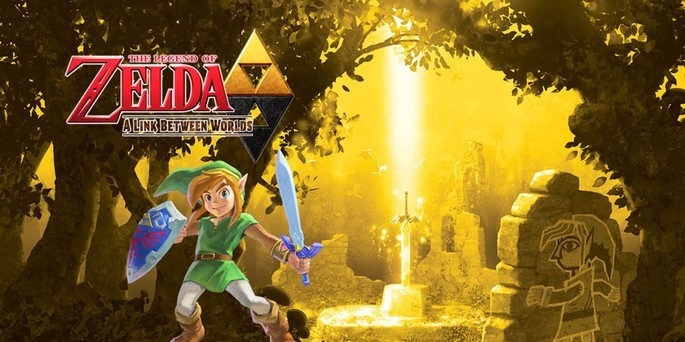 The Legend of Zelda A Link Between Worlds - Mejores juegos 3DS