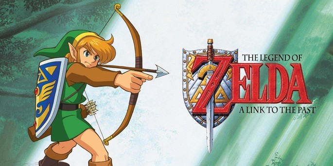 The Legend of Zelda A Link to the Past - Mejores juegos GBA