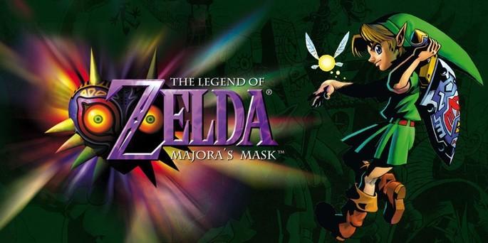 The Legend of Zelda Majora's Mask - Mejores juegos de la Nintendo 64