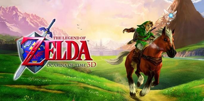 The Legend of Zelda Ocarina of Time 3D - Mejores juegos 3DS