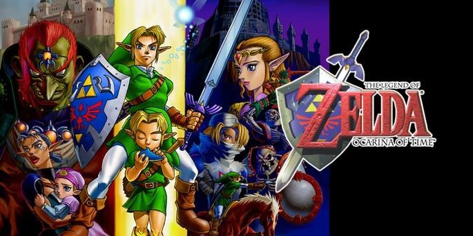 The Legend of Zelda Ocarina of Time - Mejores juegos de la Nintendo 64