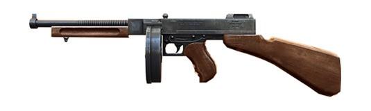 Thompson - Free Fire - Ametralladora ligera