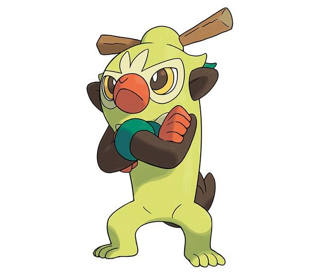 Thwackey Pokémon Espada y Escudo
