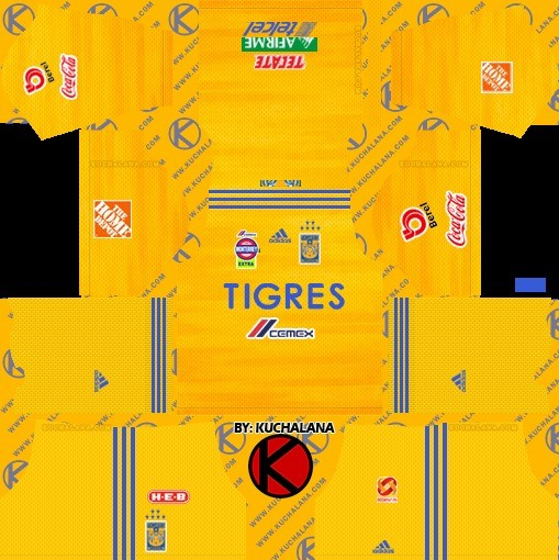 Tigres UANL local Dream League Soccer