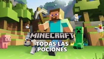Guía de alquimia sobre cómo hacer todas las pociones en Minecraft