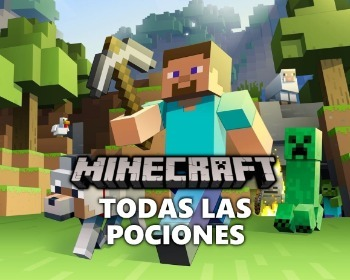 Guía con todas las pociones de Minecraft y cómo hacerlas