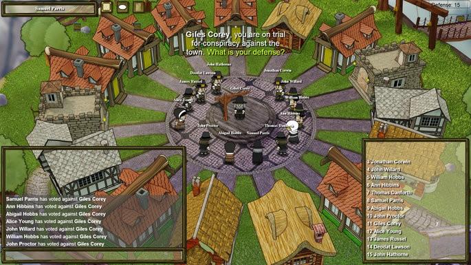 Town of Salem - Juegos parecidos a Among Us