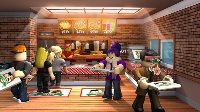 Trabaja en una Pizzería Roblox