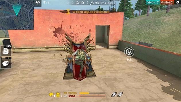 como encontrar el trono en free fire