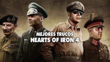 Conoce los mejores trucos para Hearts of Iron 4