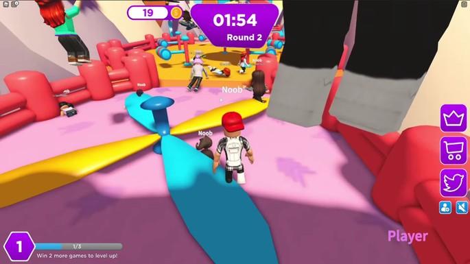 Tumble Minigames - Juegos divertidos de Roblox