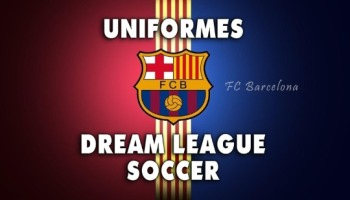 Uniformes del Barcelona para Dream League Soccer de la temporada 2020/2021