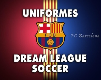 Uniformes del Barcelona para Dream League Soccer de la temporada 2019/2020