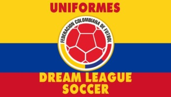 Uniformes de la selección de Colombia para Dream League Soccer
