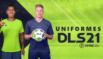 Uniformes para Dream League Soccer 2021: equipos latinoamericanos y europeos