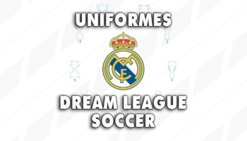 Uniformes del Real Madrid para Dream League Soccer de la temporada 2020/2021