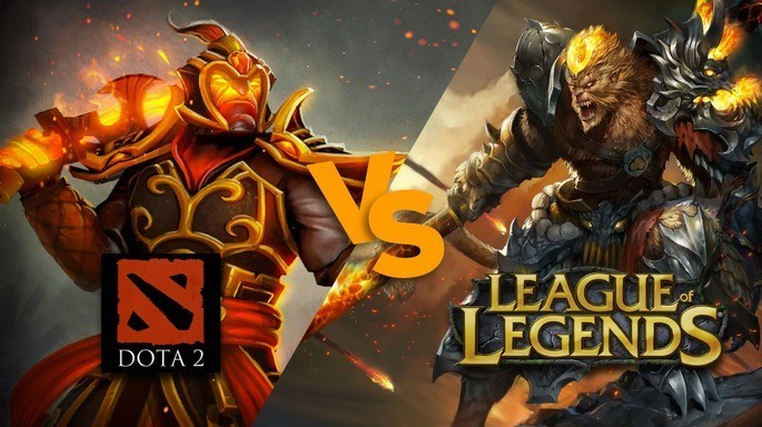 Universo DOTA 2 frente al de League of Legends