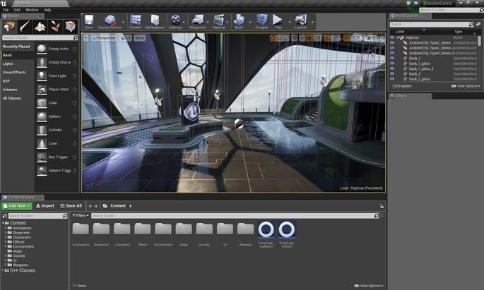 Programas para crear videojuegos - Unreal Engine y Unity 3D