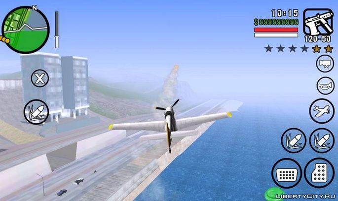 Vehículos aéreos con armas GTA San Andreas mod Android
