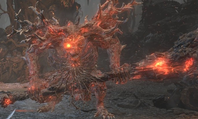 Viejo Rey Demonio - Dark Souls 3 Bosses