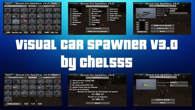 Visual Car Spawner v3.2