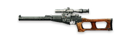 VSS Rifles de francotirador Free Fire
