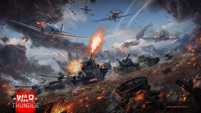 War Thunder juegos gratis para descargar