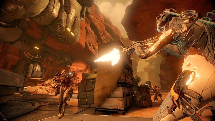 Warframe - Juegos multijugador PS4
