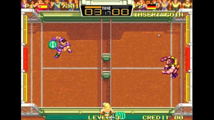 Windjammers Neo Geo