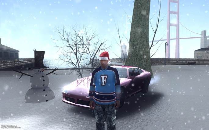 Winter Vacation 2.0 GTA San Andreas
