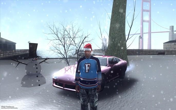 Winter Vacation 2.0 GTA San Andreas