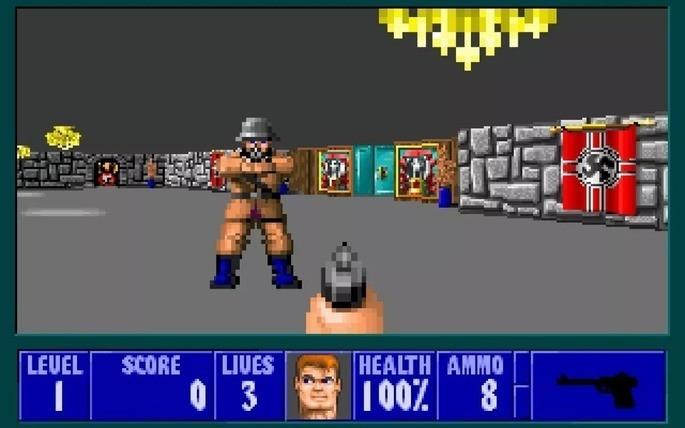 Wolfenstein 3D - Juegos antiguos PC