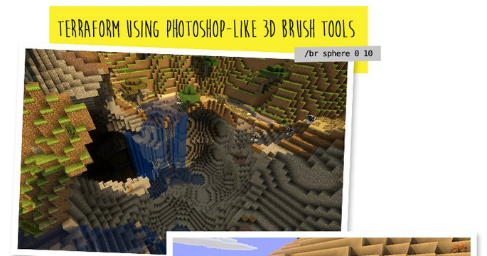 Mods para Minecraft - WorldEdit