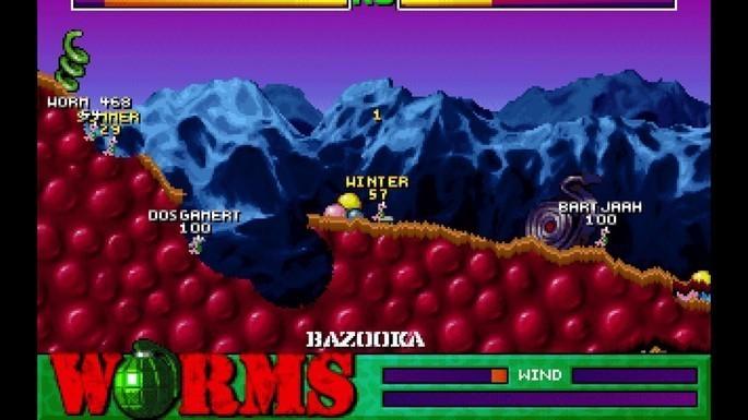 Worms - Juegos antiguos PC