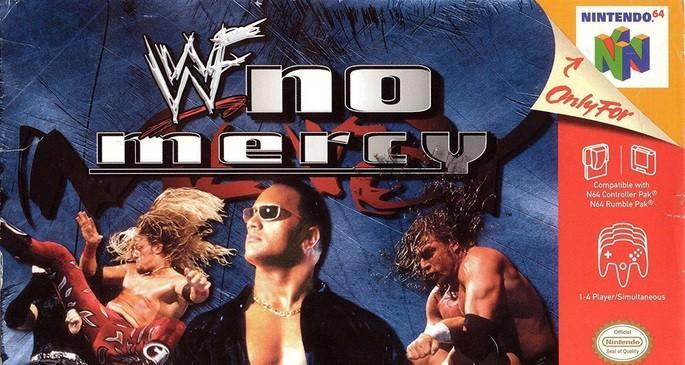WWF No Mercy - Mejores juegos de la Nintendo 64
