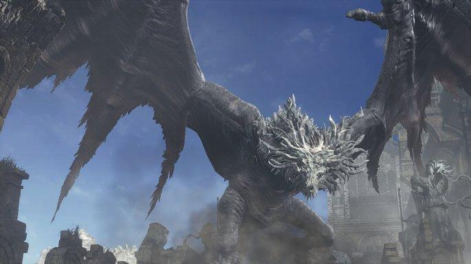 Wyvern antiguo - Dark Souls 3 Bosses
