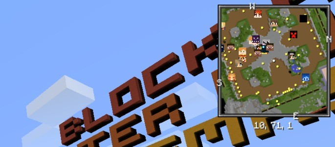 Xaero's Minimap mod para Minecraft