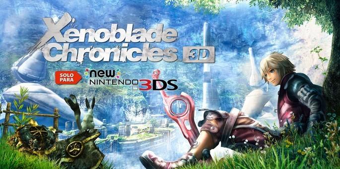 Xenoblade Chronicles 3D - Mejores juegos 3DS